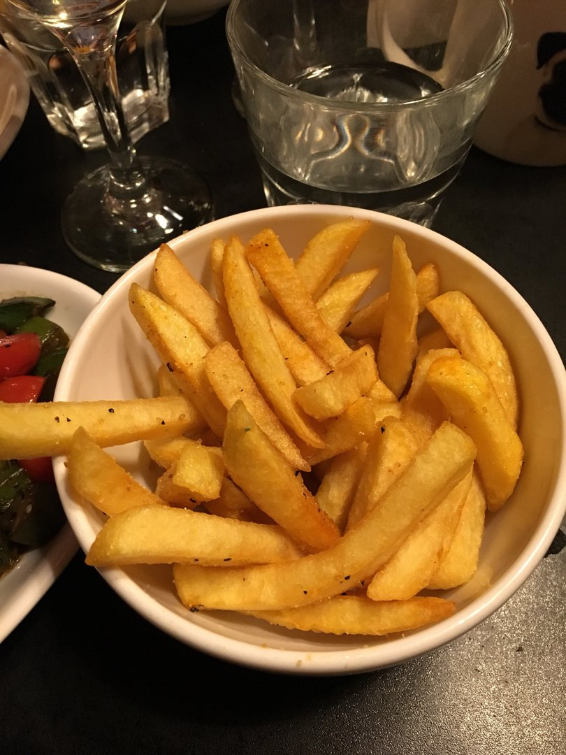 Photo of Seasoned Fries (Chips/Fries) at Bodean's BBQ Soho