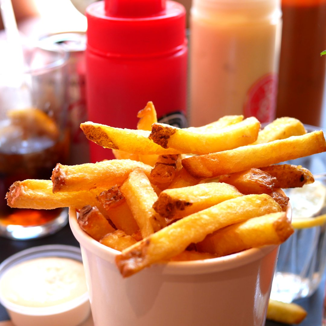 Photo of Chips With Salt And Vinegar Aioli (Chips/Fries) at Patty & Bun