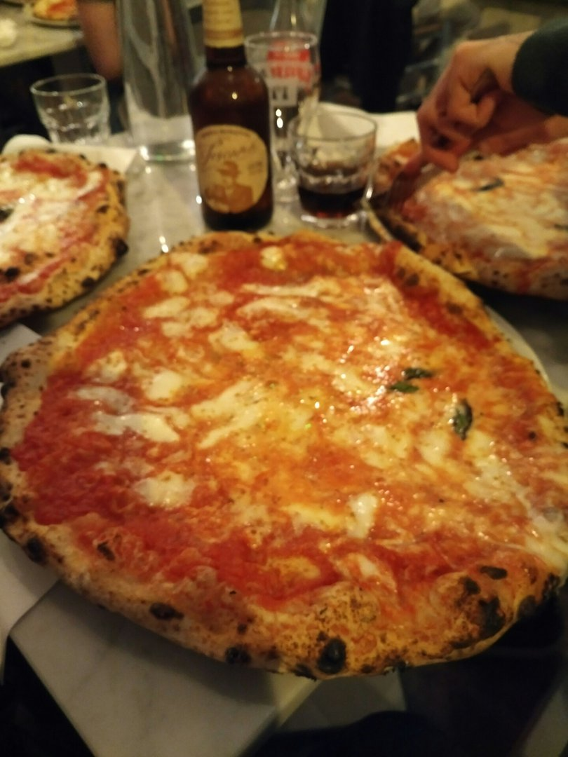 Photo of Pizza Margherita (Pizza) at L'Antica Pizzeria da Michele