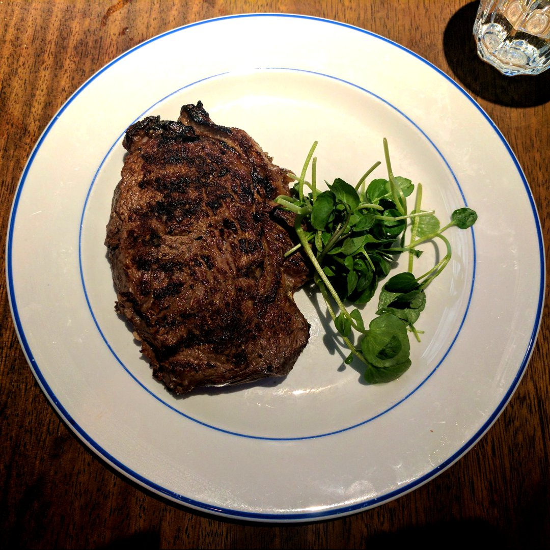 Photo of Ribeye Steak (Steak) at Foxlow Soho